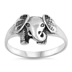Silver Ring - Elephant - $4.30