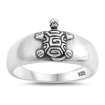 Silver Ring - Turtle - $5.24