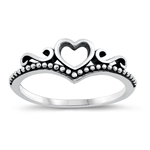 Silver Ring - Heart - $3.17