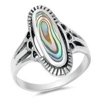 Silver Ring W/ Stone - $10.92
