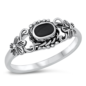 Silver Ring W/ Stone - $4.77