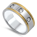 Stainless Steel Ring - $3.00