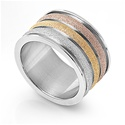 Stainless Steel Ring  -  $7.56