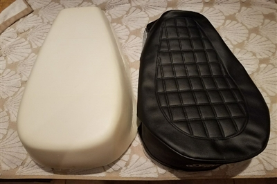 Indian Seat Foam & Cover<br> Indian Seat Kit