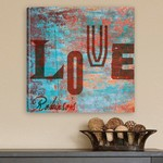 Graffiti Love Canvas Print