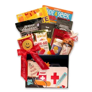 A Doctor's in the House Gift Box - A great gift to give that loved one who's under the weather!