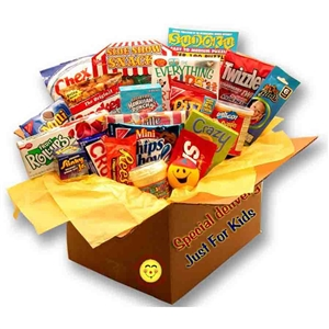 Kids Blast Deluxe Activity Care Package - Care package brimming with fun gifts and treats for kids
