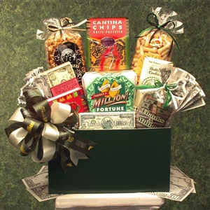 Last Minute Thank You Gift Basket - Stuffed with All the Right Goodies!