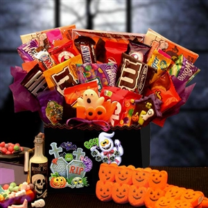 Spooktacular Sweets Halloween Gift Box - A giant collection of candy sure to satisfy any spook!