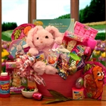 Hunny Bunny Easter Gift Basket - Treats and activities basket for kids