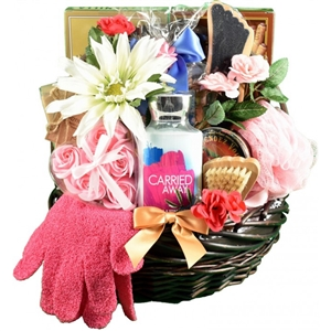 Mulberry Lane Spa and Chocolate Basket - Give the gift of relaxation!