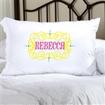 Personalized Glamour Girl Pillow Cases