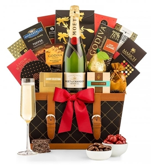 Moet & Chandon Champagne VIP Corporate Wine Gift Chest