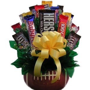 Football Candy Bouquet is the perfect gift for your favorite sports nut!