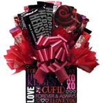 Hugs & Kisses Valentines Box Bouquet is the perfect way to say I love you.