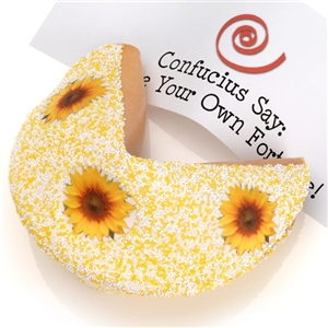 Gourmet SUNFlower Giant Fortune Cookie
