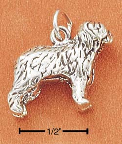 Old English Sheepdog Charm