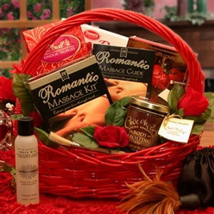 Romantic Massage Valentine Gift Basket