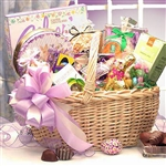 Deluxe Easter Gift Basket - Filled with traditional Favorites