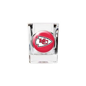 Personalized Kansas City Chiefs Shot Glass