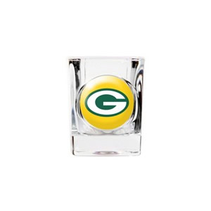 Personalized Green Bay Packers Shot Glass