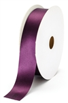 large plum satin ribbon