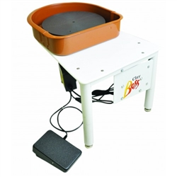 CLAY BOSS POTTERS WHEEL W/SPLASH PAN