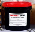 DERBY 3000HT fire clay mortar or kiln cement eqivalent to SAIRSET.