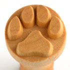 MKM Stamps4Clay SCM (2.5 cm) #001 Dog paw