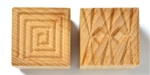 MKM Clay Stamp - Medium Square #2