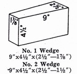 NC28W1: G-28 SOFTBRICK WEDGE #1