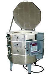 "Olympic 1818 ""Stackable"" Electric Kiln with V6-CF Electronic Controller : 2.63 Cu. Ft Cone 8"