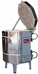 "Olympic 1823H ""Stackable"" Electric Kiln with V6-CF Electronic Controller : 3.29 Cu. Ft:  Cone 10"
