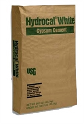 U.S. Gypsum WHITE HYDROCAL -REGULAR 50 lbs. Bag