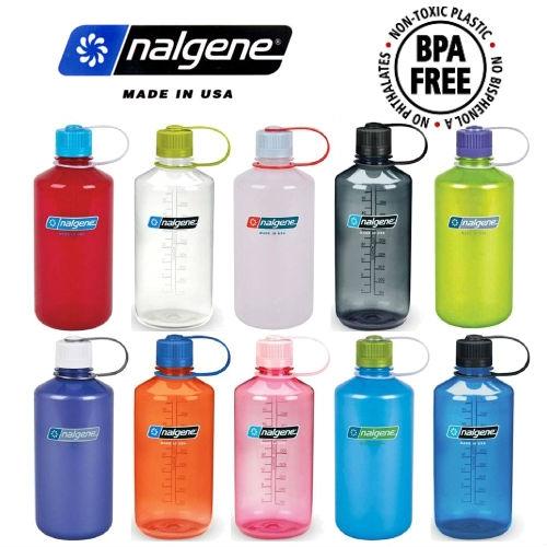 Custom Nalgene Tritan Narrow Mouth Water Bottles Custom