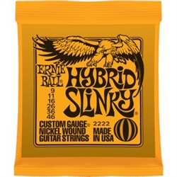 Ernie Ball 2222 Hybrid Slinky Nickel Wound Electric Guitar Strings