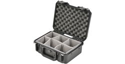 SKB 3I-1510-6B-D iSeries 1510-6 Waterproof Case (with dividers)