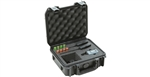 SKB 3I0907-4-SWK iSeries Waterproof Sennheiser EW Wireless Mic Case