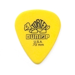 Jim Dunlop 418R-73 Tortex Yellow 0:73 mm, bag of 72