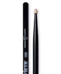 Vic Firth 5AB American Classic 5A Black Hickory Drumsticks Wood Tips