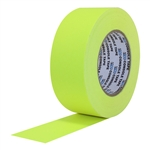 Pro Tapes 1 Inch Artist Board Tape - Fluorescent Yellow