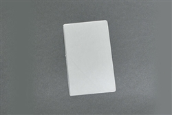 Kleer-lam Laminates, Luggage Tag Size, Clear 2 Part With Slot, 7 MIL