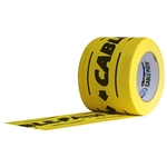 Pro Tapes Cablepath Tape 4 Inch - Yellow Printed Black