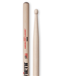 Vic Firth HD9 American Classic HD9 Hickory Drumsticks Wod Tips