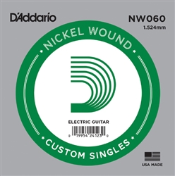 D'Addario  Single XL Nickel Wound 060