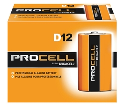 Duracell Procell D Batteries PC1300 Sold in Boxes of 12