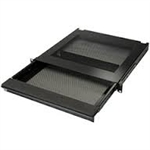 "Penn-Elcom EX-6301B 19"" Lockable Vented Laptop Drawer"