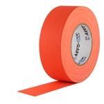 Pro Tapes 2 Inch x 50 Yards Pro Gaffer Tape - Fluorescent Orange