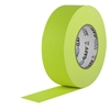 Pro Tapes 2 Inch x 50 Yards Pro Gaffer Tape - Fluorescent Yellow