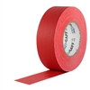Pro Tapes 2 Inch x 55 Yards Pro Gaffer Tape - Red